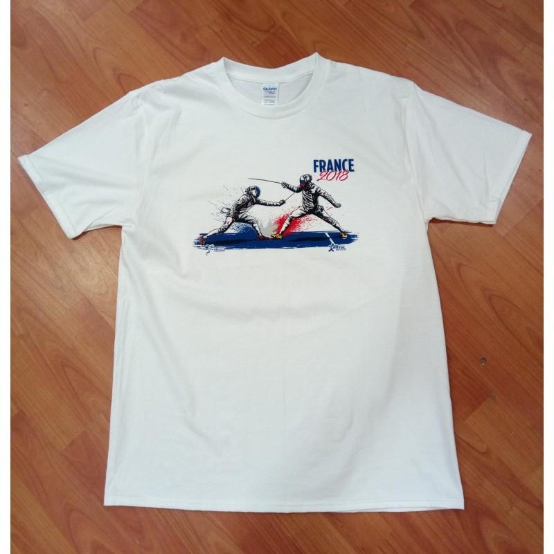 T shirt sérigraphié 2018
