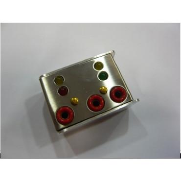 Boîte de vérification 3 armes (détection micro comprise)