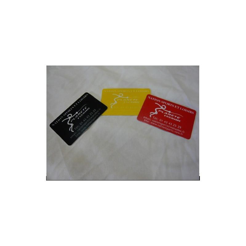 Cartons de sanction (par 3 J.R.N.)